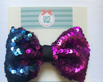 Changeable Sequin Bow
