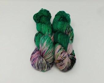 Pet Dragon - DK Desire hand dyed yarn – Superwash 100% Merino