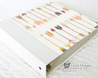 Toddler Memory Book  - Multicolored Arrows