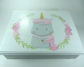 Unicorn Memory box