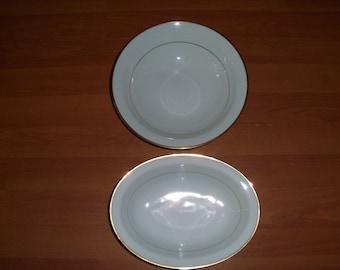 Noritake Guilford Set Of Two Serving Bowls