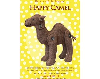 Happy Camel Sewing Pattern