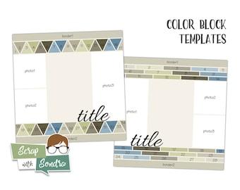 Templates: Color Blocks