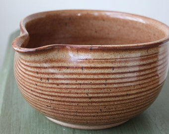 Burnt Nutmeg Ceramic Batter Bowl
