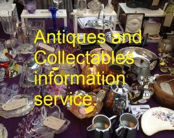 Antiques & Collectables Identification Service.