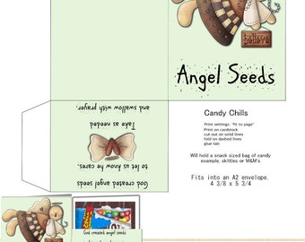 PRINT YOUR OWN  Angel Seeds Candy Chills
