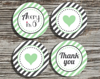 Cupcake toppers PRINTABLE