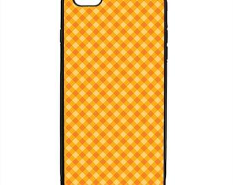 Gingham Print Phone Case Samsung Galaxy S5 S6 S7 S8 S9 Note Edge iPhone 4 4S 5 5S 5C 6 6S 7 7S 8 8S X SE Plus