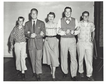 Ozzie Nelson Harriet Nelson David Nelson Ricky Nelson Don DeFore 8x10 Photo