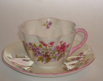 Shelley England STOCKS Tea Cup and Saucer Pattern 13428