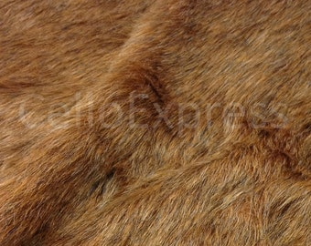 Timberwolf - Choice of Lengths Available - Animal Faux Fake Animal Fur Fabric 30mm Pile - DIY Home Crafts