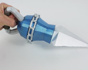 Hookshot Ocarina of Time -3D Printed Zelda Inspired Cosplay Prop
