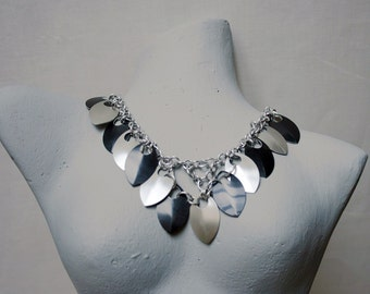 Necklace Silver-Black