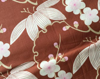 Amy Butler Midwest Modern Asian Inspired Flowers  Fat Quarter Quilt Fabric Sewing Fabric Retro Fabric