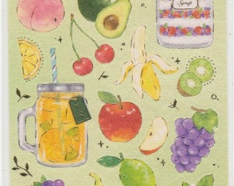 Fruit Stickers - Mind Wave Stickers - Reference A4673