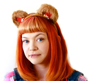 A Teddy Bear's Picnic - Teddy bear ears headband