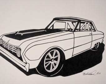 Buy 1 get any other picture FREE - Gas Monkey Ford Falcon