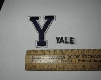 Yale University football patches