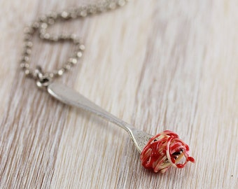Spaghetti Necklace