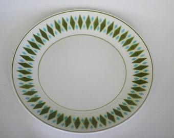 vintage mikasa cera stone chop plate platter