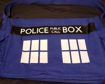 Doctor Who messenger bag