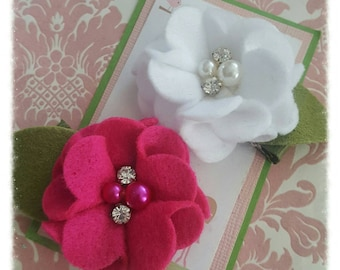 Hair clips, girl hair clips, hair clips for girls, barrettes, flower hair clips