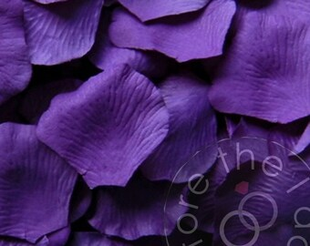Purple Silk Petals {Package of 100} //// Silk Flower Petals, Silk Rose Petals