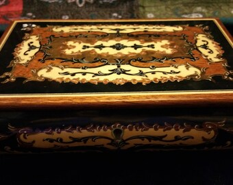 Vintage musical jewelry box.