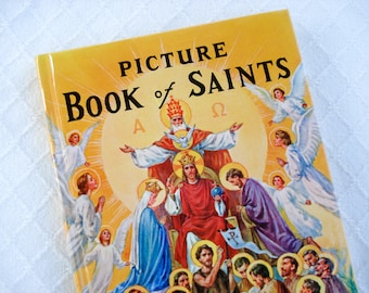 Beautifully illustrated Picture Book of Saints