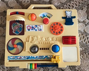 Table activity fisher price vintage playwell style