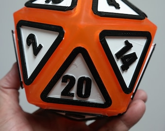 "Giant D20 Twenty-Sider 6.5"": Pepper Jack"