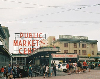 Pike Place, Seattle (Film Photograph)