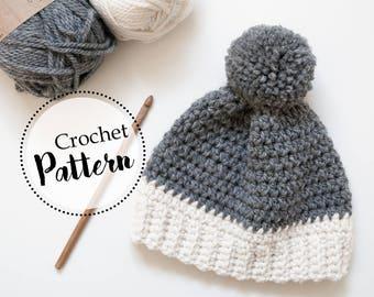 Berretto invernale per bambini neonati schema uncinetto | cappello bambini neonati pom pom | berretto di lana neonati 0 24 mesi