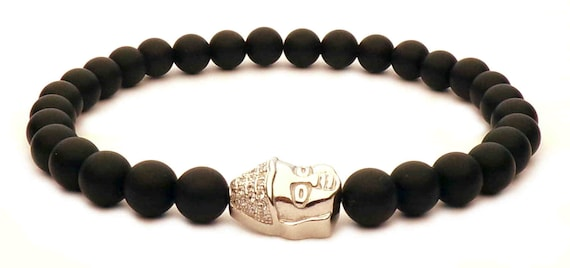 The black Buddha bracelet