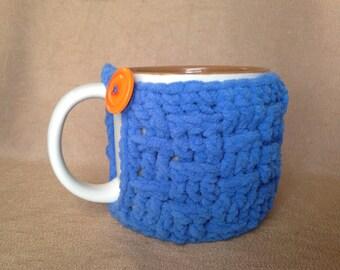 Basket weave mug cozy