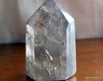 Smoky Quartz Tower, Smoky Quartz Point, Smoky Quartz, Crystal Towers, Quartz Point, Crystal Points, Polished Quartz, Healing Crystal ~1195