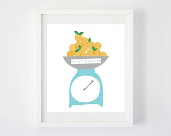 Clementines - Art Print