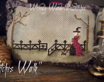 Witches Walk - PDF Cross Stitch Pattern