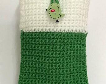 Tweet Tweet Knitted Mobile/Accessories Case
