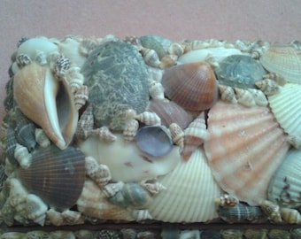 Lovely Vintage Seashell Box