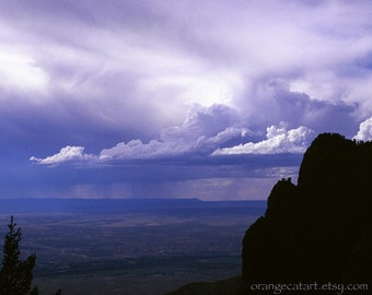 Storm Clouds over Taos