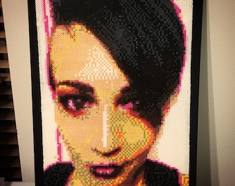 Custom Portrait on 18X24in Canvas