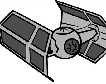 Tie Fighter - unofficial star wars SVG