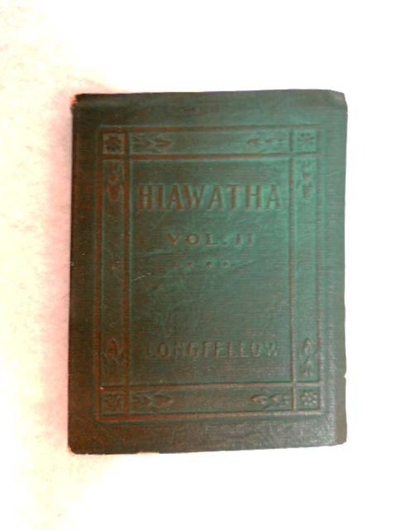 Vintage Book.. Little Leather Library...  HIAWATHA VOL. II By Henry Wadsworth Longfellow