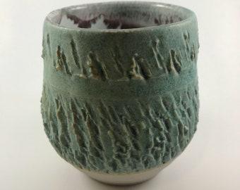 Wheel thrown cups