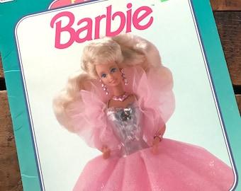 Vintage Barbie Paper Doll Book - Unused / Uncut - Barbie Book, Barbie Crafts, Children's Book, Barbie Paper Doll, 90s Golden Paper Doll Book