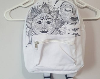 Sun + Sleepy Moon Mini Backpack