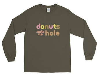 Long Sleeve T-Shirt for Donutarians and Cops!