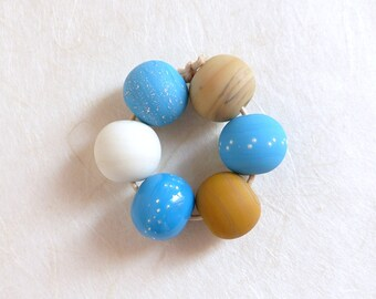 Lampwork Beads Turquoise
