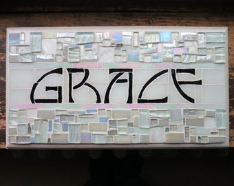 MADE TO ORDER Grace Sign in Arts and Crafts Style
